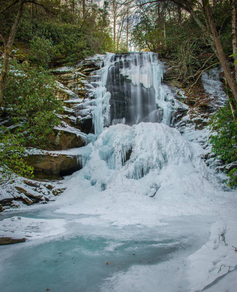 Photograph - Frozen Catawba by Joye Ardyn Durham