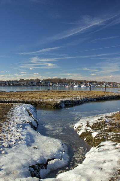 Photograph - Frozen Scituate Harbor by Amazing Jules