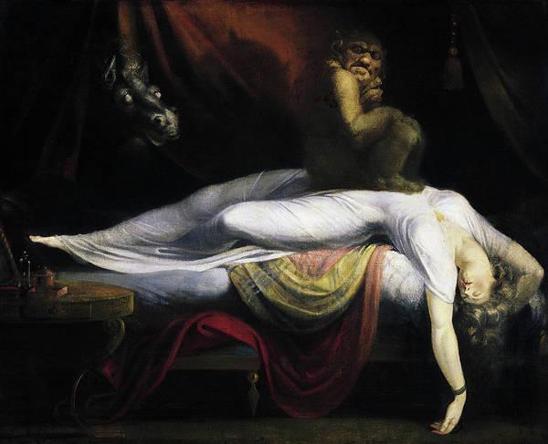 1781 Painting - Fuseli Nightmare, 1781 by Granger