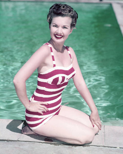Bikinis Photograph - Gale Storm by Silver Screen