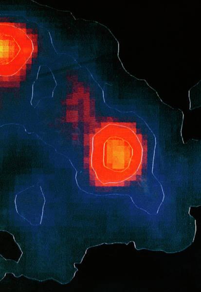 Wall Art - Photograph - Gamma Ray Image Of The Crab Nebula by Nasa/science Photo Library