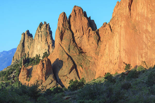 Photograph - Garden Of The Gods In Morning Sun by Richard Smith