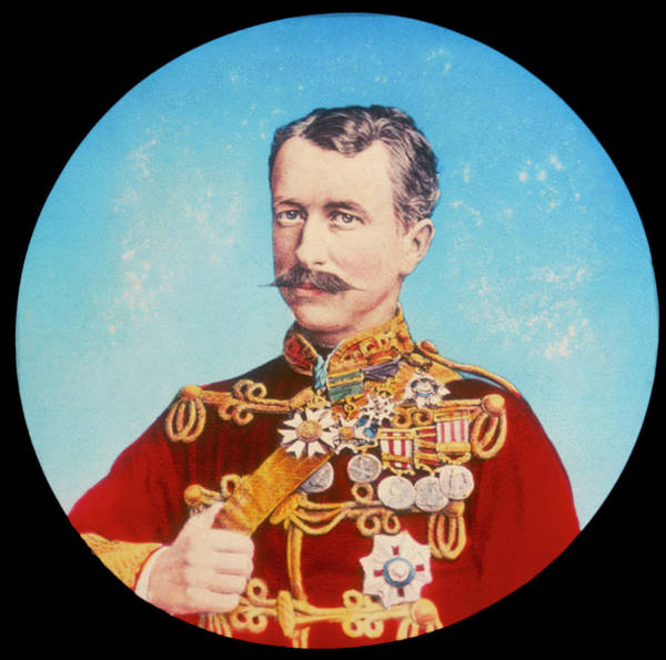 Gold Medal Drawing - Garnet Joseph 1st Viscount Wolseley by Mary Evans Picture Library