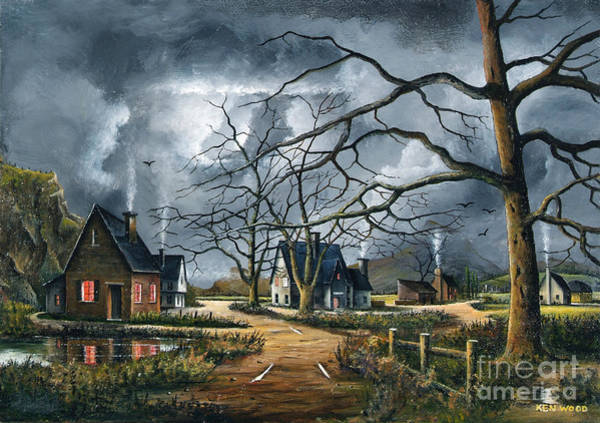 Painting - Gathering Storm by Ken Wood