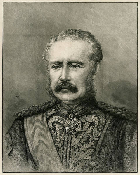 Wall Art - Drawing - General Charles Gordon  British by Mary Evans Picture Library