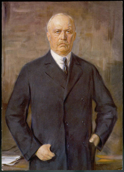 Wall Art - Drawing - General E F W Von Ludendorff  German by Mary Evans Picture Library