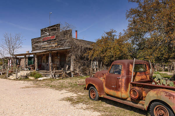 Photograph - General Store And Truck by John Johnson