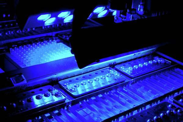 Handling Photograph - Genome Sequencing Machine by Martin Krzywinski/science Photo Library