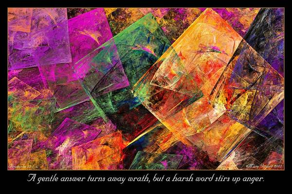 Digital Art - Gentle Answer by Missy Gainer