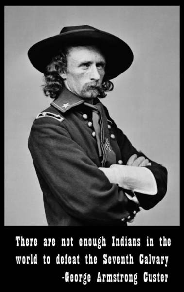 Us Civil War Digital Art - George Armstrong Custer by Unknown