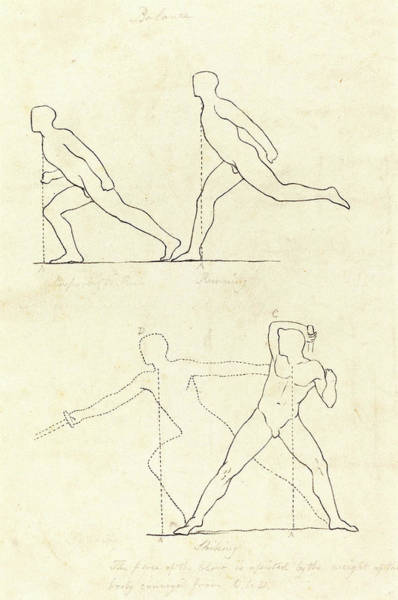 Prepare Drawing - George Scharf After John Flaxman, German 1788-1860 by Litz Collection