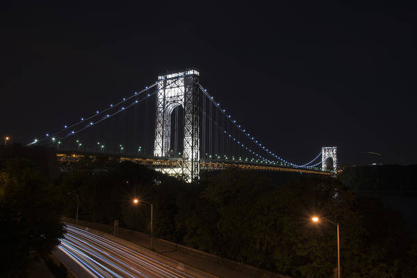 Photograph - George Washington Bridge - Memorial Day 2013 by Theodore Jones