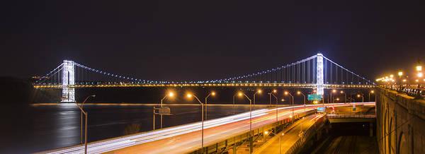 Photograph - George Washington Bridge On President's Day by Theodore Jones