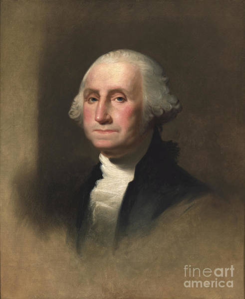 Historical Figure Painting - George Washington by Rembrandt Peale