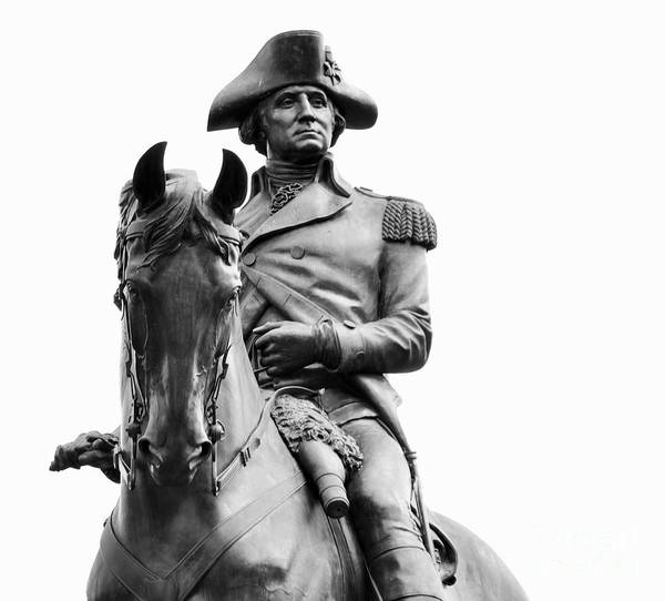 Photograph - George Washington Statue Boston Ma by Staci Bigelow