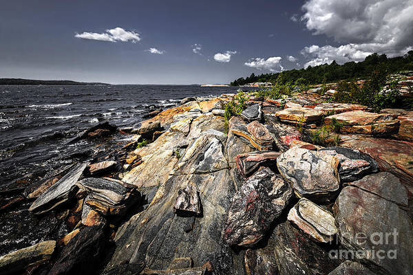 Photograph - Georgian Bay Shore by Elena Elisseeva