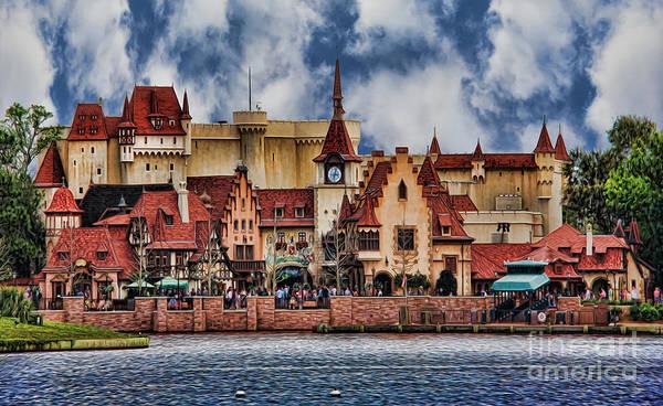Wall Art - Photograph - German Lakeside Castle by Lee Dos Santos
