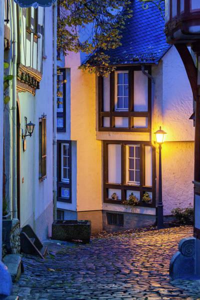 Hessen Photograph - Germany, Hesse, Limburg An Der Lahn by Walter Bibikow