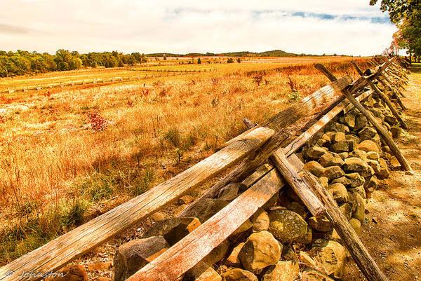 Photograph - Gettysburg Battleground by Bob and Nadine Johnston