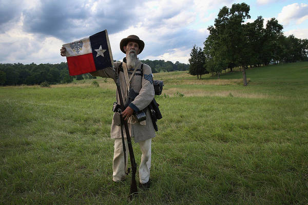 Gettysburg Marks 150th Anniversary Of Art Print