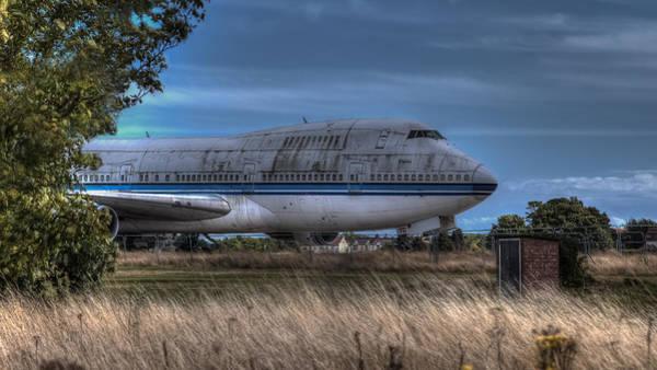 747 Photograph - Ghost Flight by Nigel Jones