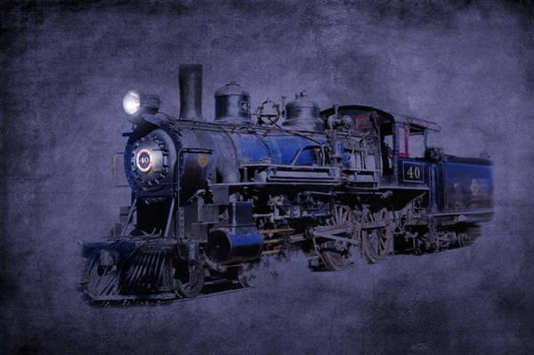 Photograph - Ghost Train by Gunter Nezhoda