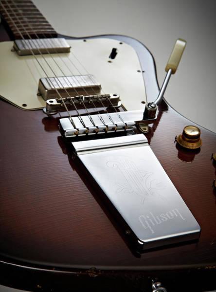 Photo Shoot Photograph - Gibson Firebird Electric Guitars by Guitarist Magazine