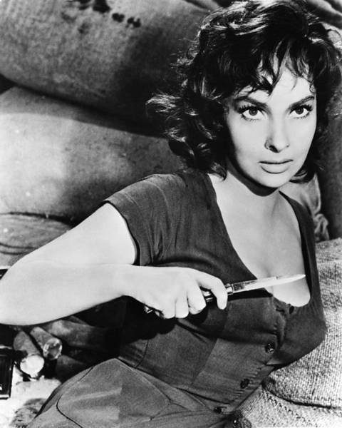 Gina Wall Art - Photograph - Gina Lollobrigida by Silver Screen