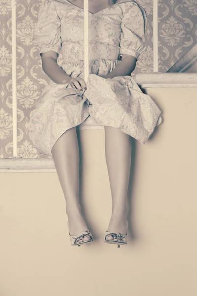 Banister Wall Art - Photograph - Girl On Steps by Joana Kruse