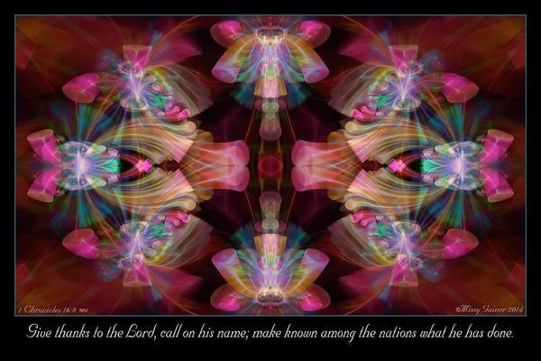 Digital Art - Make Known by Missy Gainer