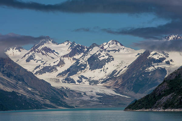 Glacier Bay Photograph - Glacier Bay Alaska by Tom Norring