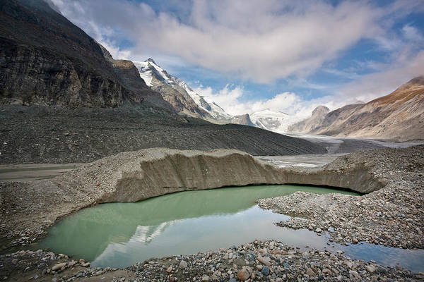 Disintegration Wall Art - Photograph - Glacier Foreland And Disintegration by Martin Zwick