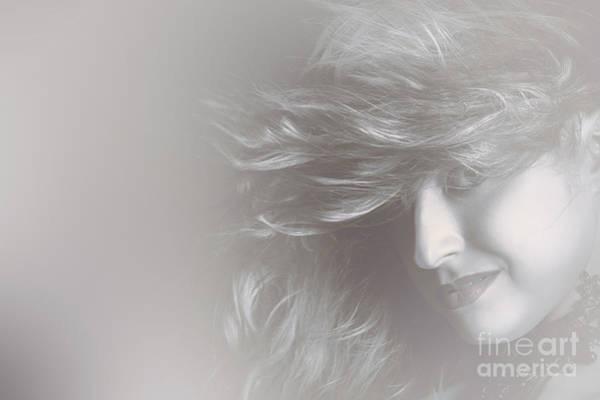 Beauty Salon Photograph - Glamorous Girl With Luxury Salon Hair Style by Jorgo Photography - Wall Art Gallery