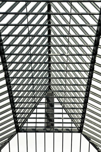 Airy Photograph - Glass Roof by Tom Gowanlock