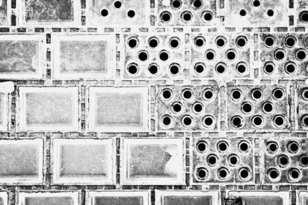 Missing Wall Art - Photograph - Glass Tiles by Tom Gowanlock