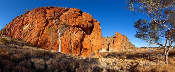 Central Australia Photograph - Glen Helen Gorge by Bill  Robinson
