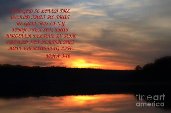 Lake Juliette Photograph - God Only Son by Donna Brown
