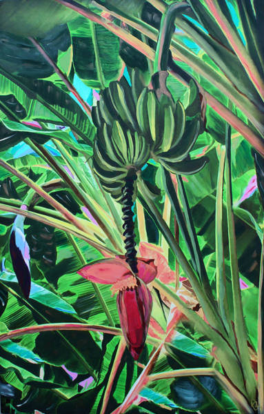 Going Bananas Art Print