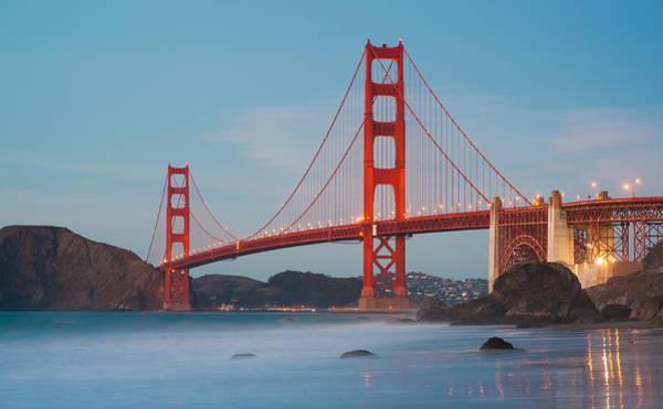 Wall Art - Photograph - Golden Gate Bridge by Catherine Lau