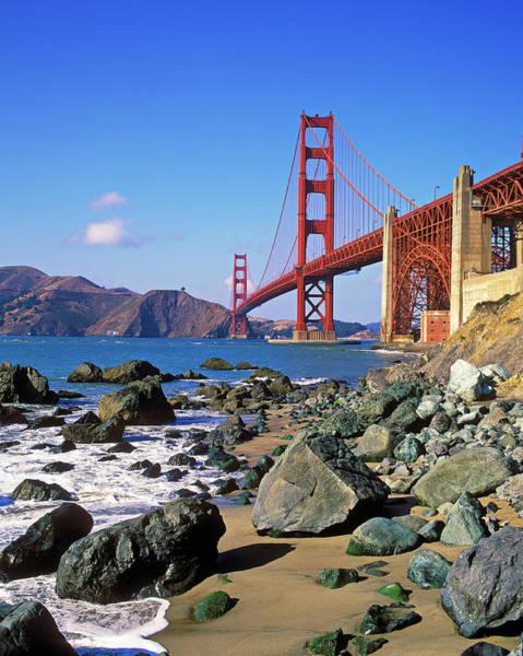 Surf City Usa Photograph - Golden Gate Bridge, San Francisco by Hans-peter Merten