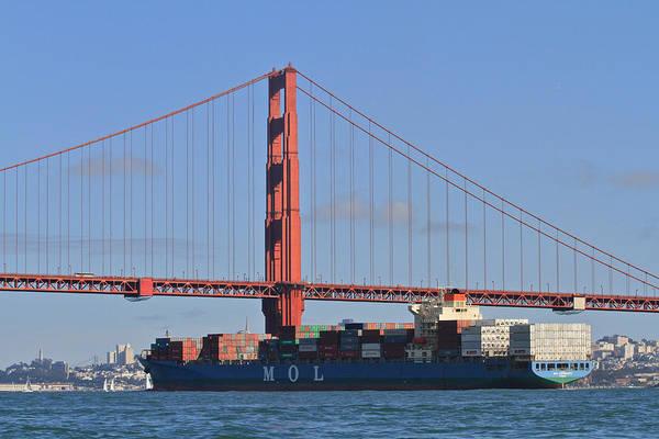 Photograph - Golden Gate Skyline by Steven Lapkin