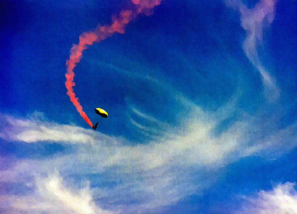 Painting - Golden Knights Painting by Bob and Nadine Johnston