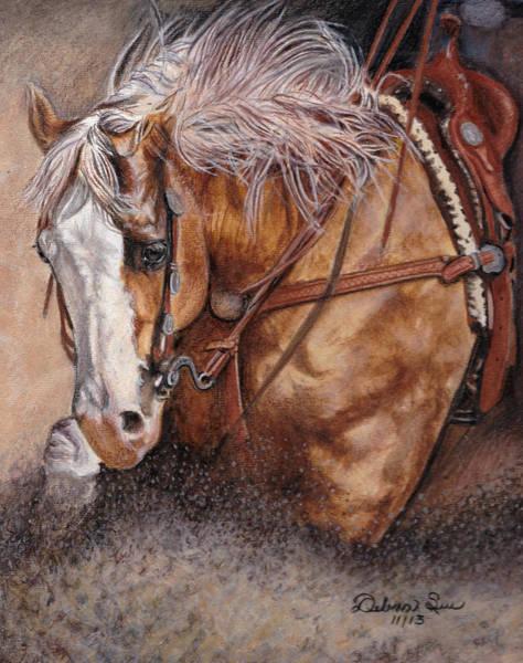 Palomino Horse Mixed Media - Golden Moments by Debra Sue  Waters