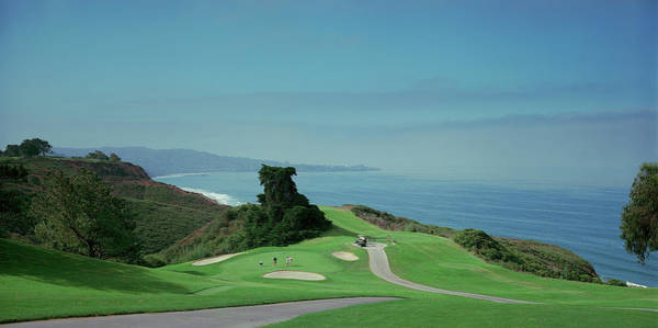 Torrey Photograph - Golf Course At The Coast, Torrey Pines by Panoramic Images