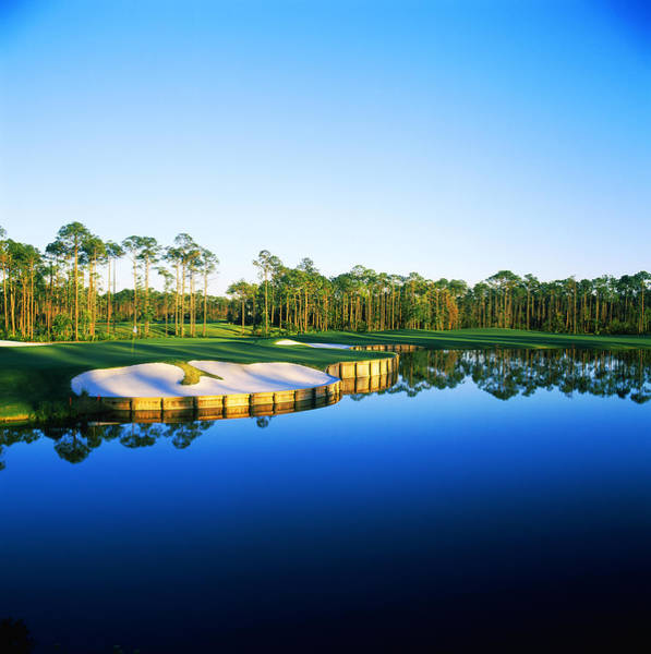 Golf Green Photograph - Golf Course At The Lakeside, Regatta by Panoramic Images