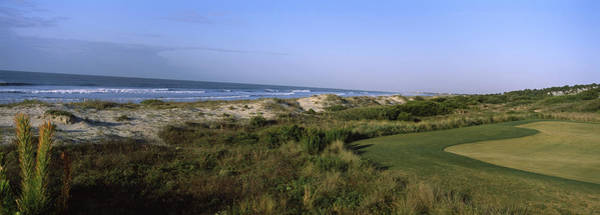 Peacefulness Photograph - Golf Course At The Seaside, Kiawah by Panoramic Images