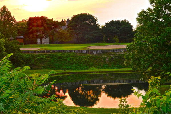 Hogan Photograph - Golf Course Beauty by Frozen in Time Fine Art Photography
