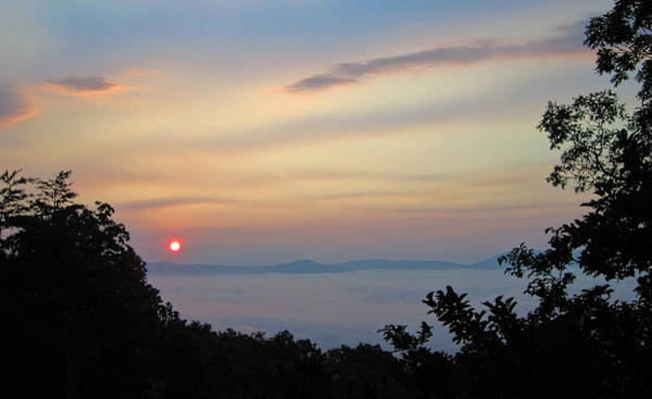 Photograph - Good Morning Blue Ridge by Lara Ellis