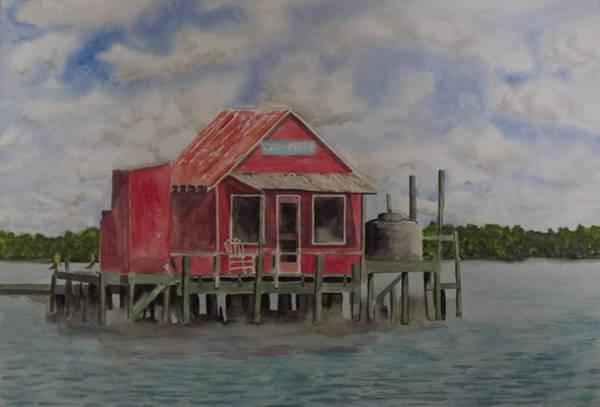 Captiva Island Painting - Goodyear Fish House #2 by Gary Thomas