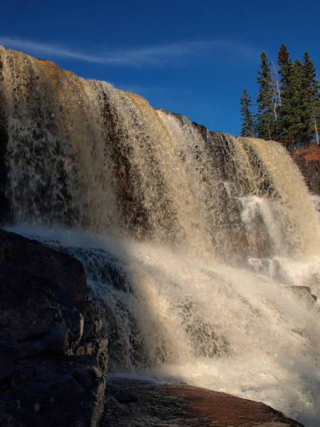Paysage Photograph - Gooseberry Falls by James Peterson
